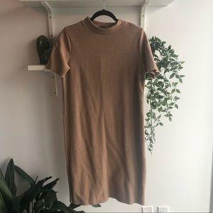 🦎BOGO Zara midi mock neck dress